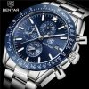 BENYAR Men Watch Top Brand Luxury Chronograph Sport